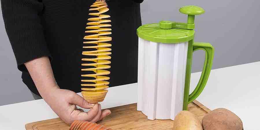 Cortador de patatas en espiral