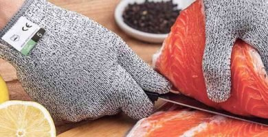 guantes de corte de nivel 5 para la seguridad en la cocina